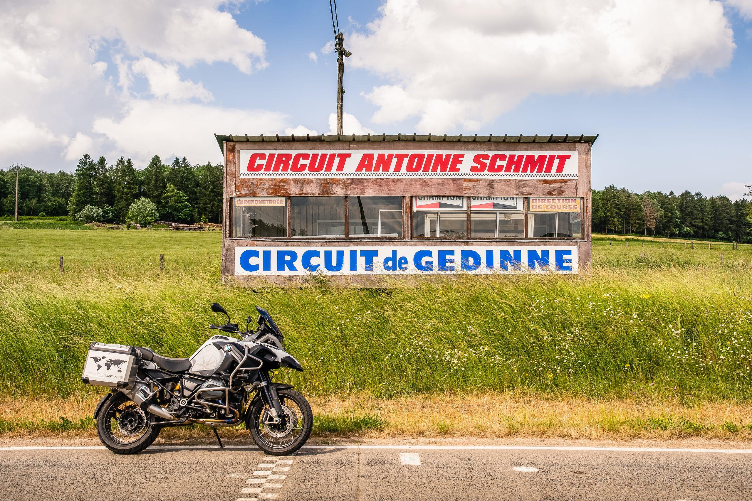 Toerroute Van Dinant naar Saint Hubert - Circuit de Gedinne