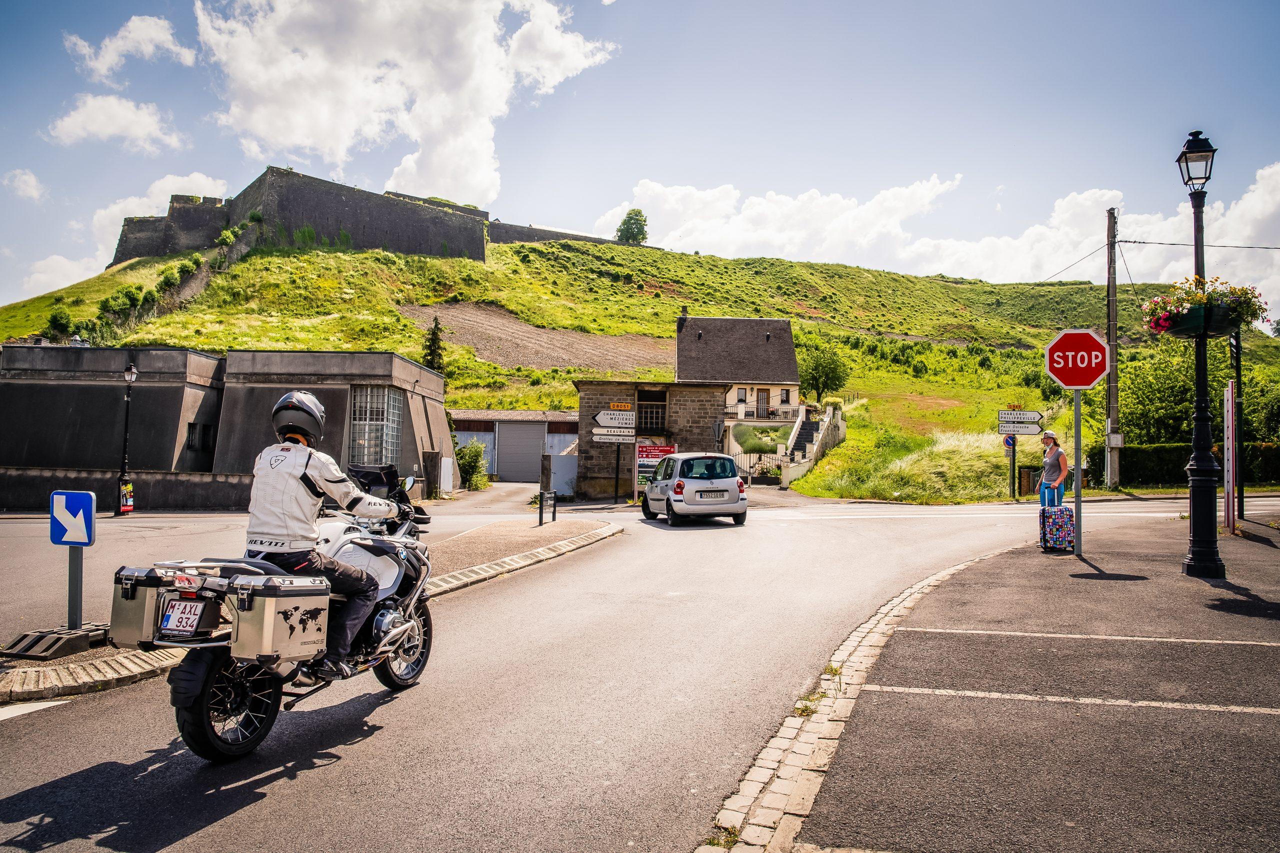 Toerroute Van Dinant naar Saint Hubert - Citadelle Givet