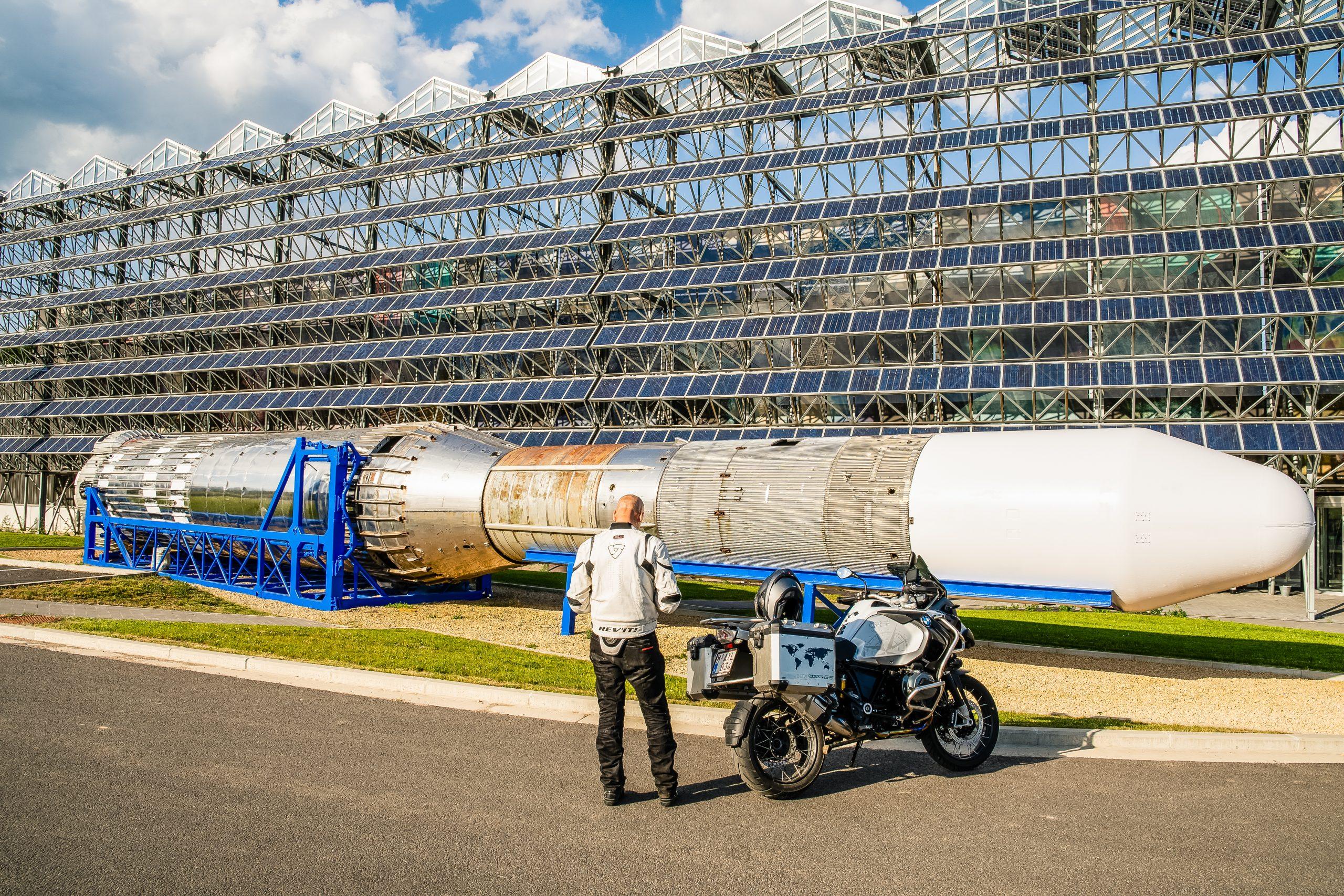 Toerroute Van Dinant naar Saint Hubert - Euro Space Center