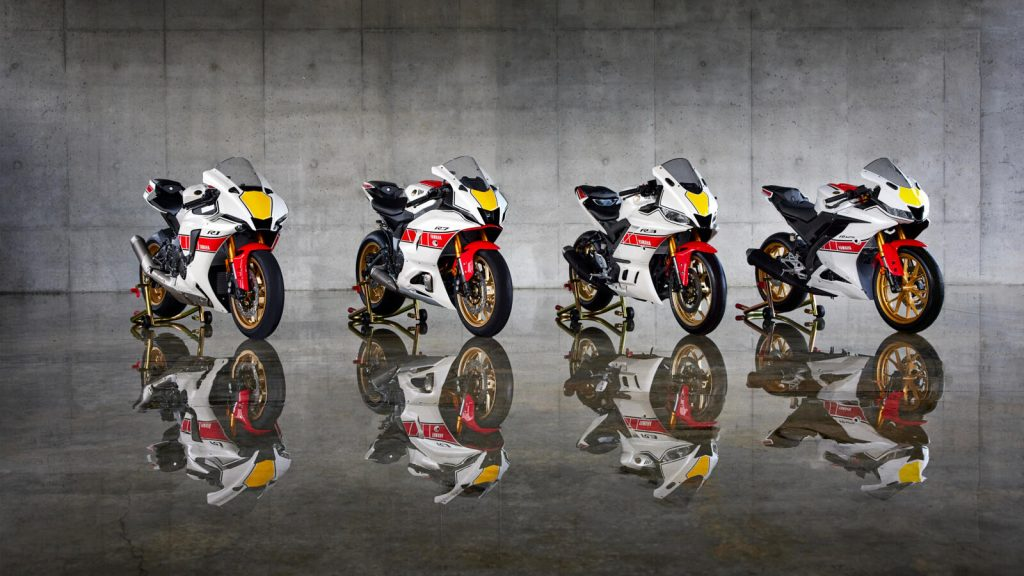 Yamaha R World GP 60th Anniversary