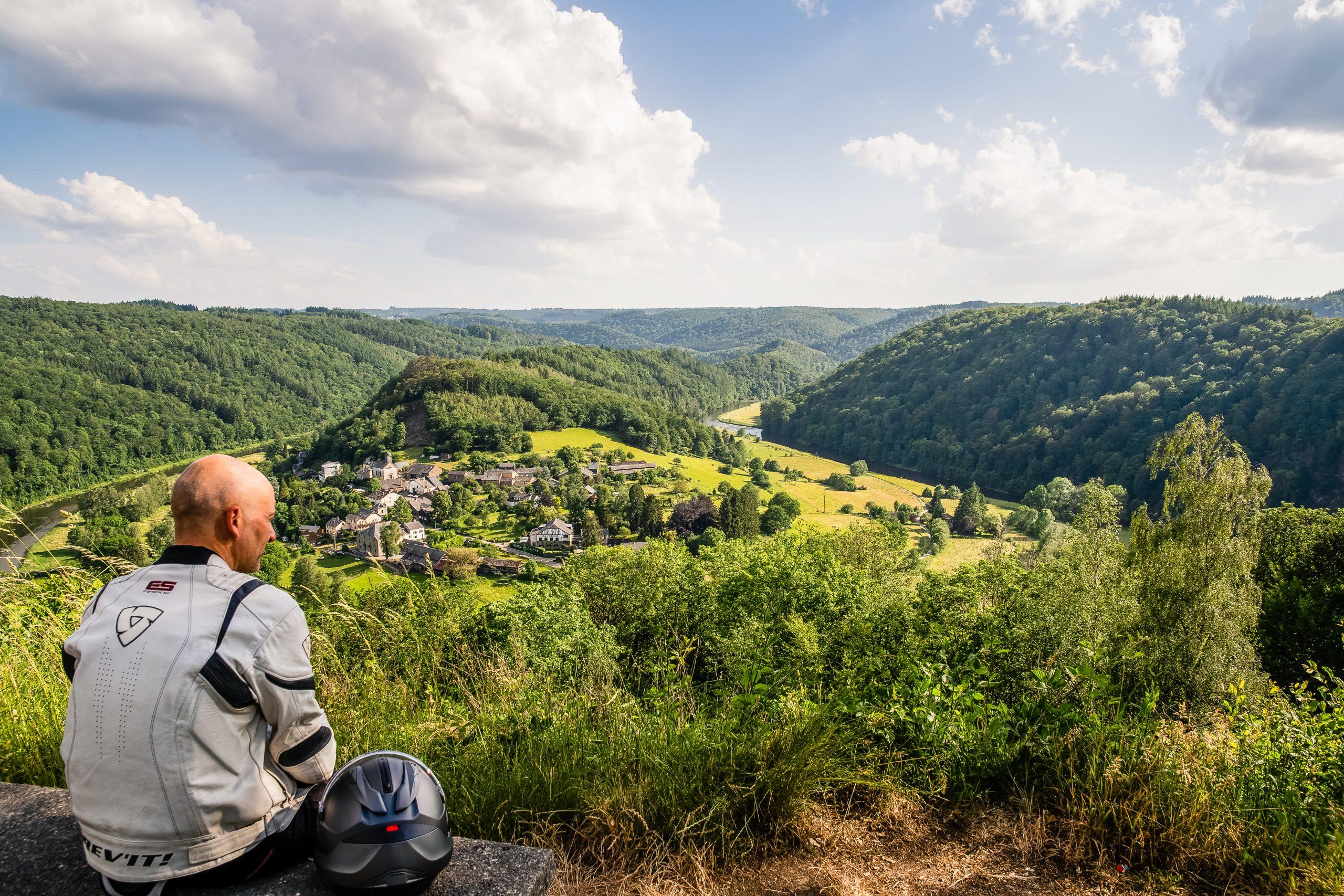 Toerroute Van Dinant naar Saint Hubert - Rochehaut