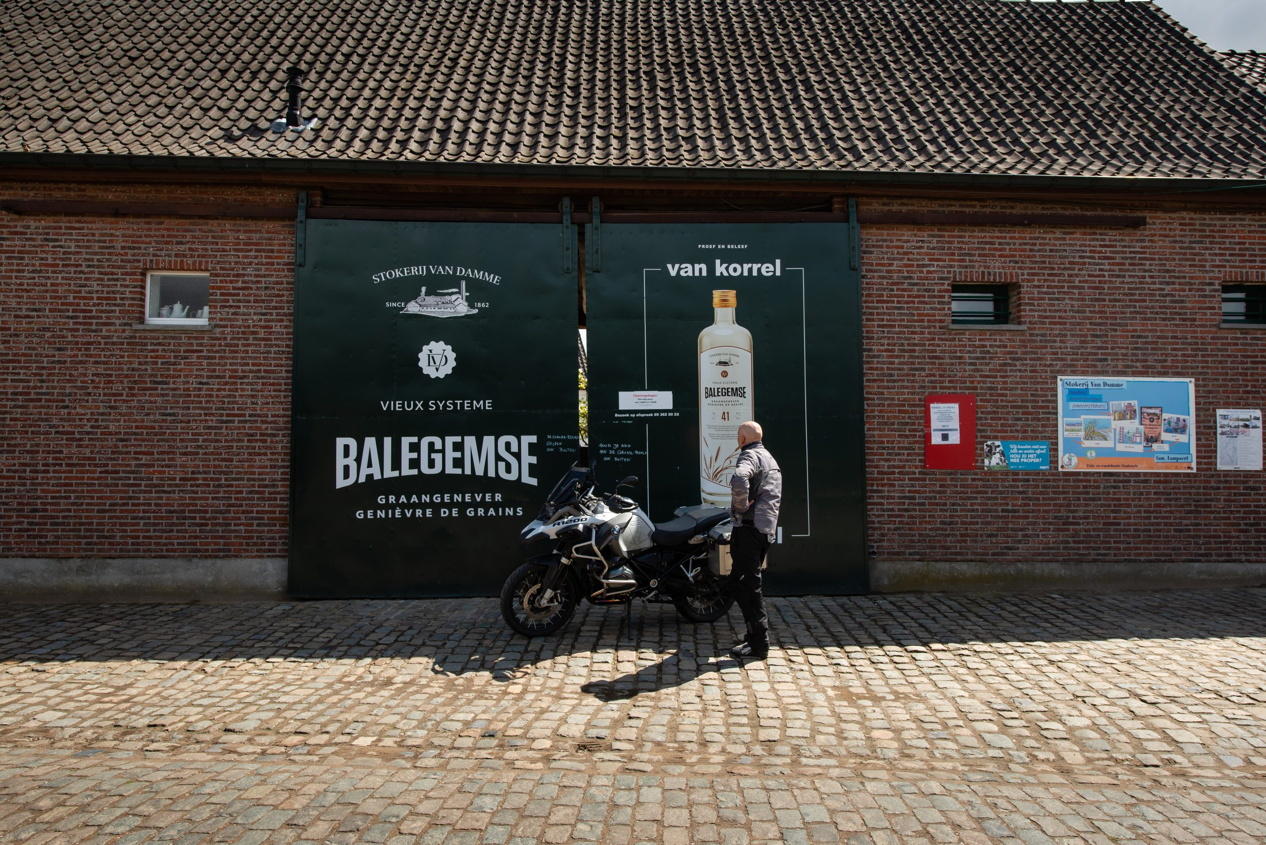 Toerroute Vlaamse Ardennen Stokerij Van Damme